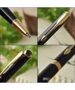 Parker Sonnet Series BLACK NEW Golden Arrow Clip Ball point Pen - $7.99
