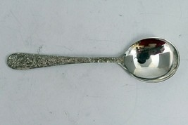"Rose by Stieff Sterling Silver 6 1/2"" Cream Bouillon Round Bowl Spoon 1.... - $49.49"