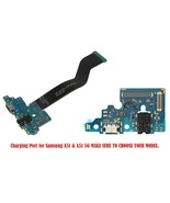 Charging Charger Mic Port headphone Jack Replacement Part for Samsung Ga... - $25.99