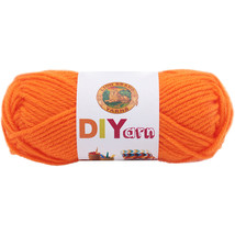 Lion Brand DIYarn  Orange. - $6.24