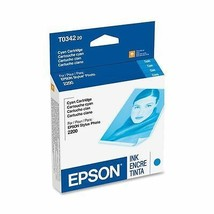 Epson T034220 blue ink jet C13T034220 GENUINE - stylus photo printer 220... - $26.69