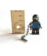 LEGO The Ninjago Movie Jay Ninja Minifigure Minifig from 70610 Flying Je... - $8.49