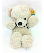 Dakin Cuddles Teddy Bear Brown Tan 1977 NEW Old Stock Plush Stuffed Anim... - $96.74