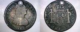 1801NG M Guatemalan 1/2 Real World Silver Coin - Guatemala - Charles III... - $34.99