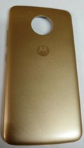 OEM Motorola Moto E4 XT1765 Standard Back Cover Battery Door - Gold - $12.86