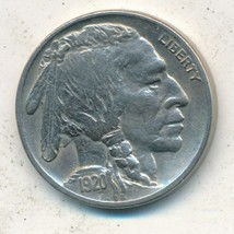1920 BUFFALO NICKEL-VERY NICE CIRCULATED BUFFALO NICKEL-SHIPS FREE! - $17.95