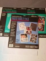Lot of 3 Photo Refill 2-5x7, 1- Variety Pack Acid Free No PVC . 10x3pk U... - $9.78