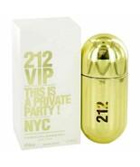 Perfume 212 Vip by Carolina Herrera Eau De Parfum Spray 1.7 oz for Women - $59.04