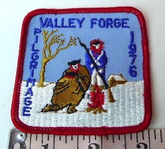 Boy Scouts Valley Forge Pilgrimage Patch 1976 vintage - $24.26