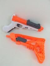 Sharpfire Nerf Gun Compact Pistol Hasbro Blaster 2013 w/ Stock & Darts I... - $19.75