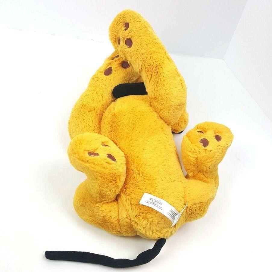 Pluto Plush Disney Store Exclusive 16 inch Dog Stuffed Animal Large Authentic