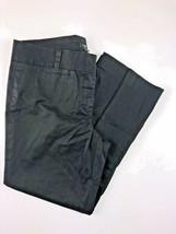 "J. CREW City Fit Black Stretch Women's Pants Size 8 32x24"" - $19.75"