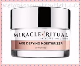 MIRACLE RITUAL Age Defying Moisturizer Cream 1oz Rodan + Fields Formula  - $39.95