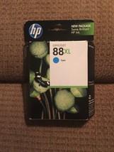 HP Officejet 88xl Cyan Ink Cartridge OEM HP Ink **Unopened New In Box** - $7.93