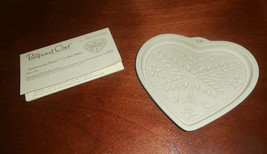 Pampered Chef Anniversary Heart Cookie Mold New Unused - $9.74