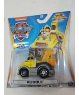 RUBBLE Paw Patrol True Metal Jungle Rescue diecast car  (bs) - $24.75