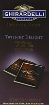Ghirardelli Chocolate Intense Dark Chocolate Bar, 72% Cacao Twilight Delight, 3. - $9.85
