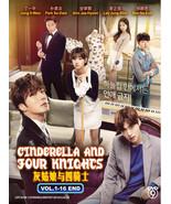 Korean Drama DVD Cinderella And Four Knights Vol.1-16 End Eng Sub Ship F... - $30.32