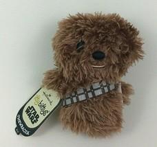 "Hallmark Itty Bittys Star Wars Chewbacca Mini 4"" Plush Stuffed Toy with ... - $9.85"