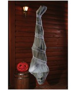 """Halloween Trick or Treat Mummy Skeleton Cocoon 72"""" High Color Grey - $50.00"""