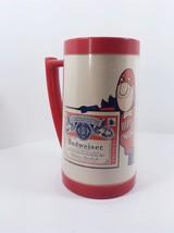 Vintage Budweiser Bud Man Mug From Thermo-Serv Westbend - $9.90
