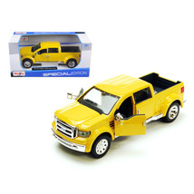 Ford Mighty F-350 Pick Up Truck Yellow 1/31 Diecast Model by Maisto 31213y - $29.91