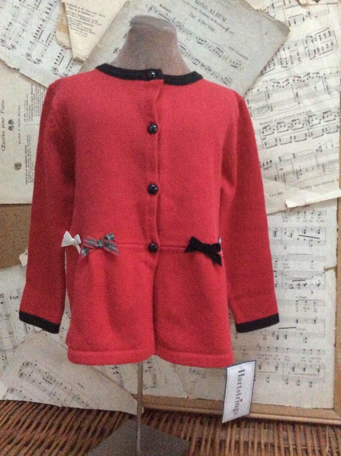 Hartstrings Red Cotton Cardigan Sweater and 23 similar items