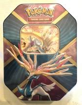 Pokemon 2016 Power Trio Xerneas EX Tin Sealed 4 XY Booster Packs Code Card NEW - $15.95
