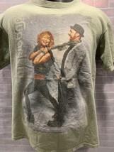 Sugarland The Incredible Machine 2011 Tour Concerto T-Shirt TAGLIA M - $10.39