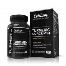 Cellium Turmeric Curcumin with BioPerine 95% Curcuminoids 60 Capsules - $90.62
