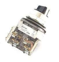 LOT OF 3 ALLEN BRADLEY 800T-H2 SELECTOR SWITCH SER. T W/ 800T-XA SER. D  image 2