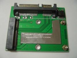 1.8 in mSATA Mini PCIE SSD to SATA Adapter Converter US Seller New - $9.75