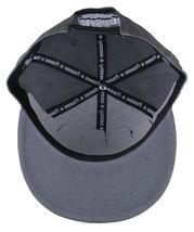 Dissizit Smoke Bowls Skateboard D Bones Ramp Grey Snapback Baseball Hat NWT image 7