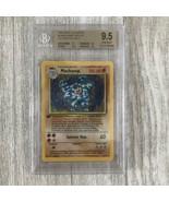 Pokemon Base Set GEM MINT 1st Edition Machamp Holo Rare #8/102 BGS 9.5 P... - $5,939.01