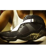 Retro Jordan 8.0 BLACK WHITE SIZE 13 - $63.12