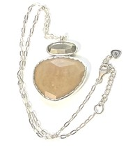 SILPADA 925 S Silver Reversible Pyrite Tigers Eye Day & Night Necklace N... - $87.99