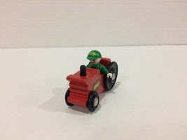 Brio Train Red Tractor with Green Figure Man RARE HTF FREE Shipping! - $49.49