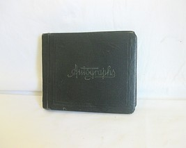 1926 - 27 School Autograph Book Hard Cover - $15.00