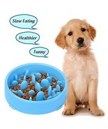 XZQTIVE Slow Feeder Bowl for Dog, Interactive Bloat Stop Dog Bowl Fun Fe... - $8.10