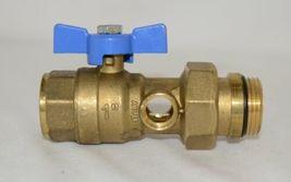 Bainchi F lli 422MC0060E MF Brass Ball Valve PN25 Pipe Union Oring Thermometer image 5