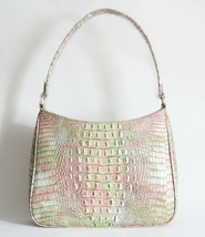 NWT BRAHMIN NOELLE TEXTURED LEATHER SHOULDER BAG ATLAS MELBOURNE - $191.57