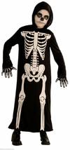 Skeleton Reaper Boys Grim Reaper Robe Halloween Costume Size Small 4-6 - $11.19