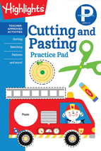Preschool Cutting and Pasting (Highlights Learn on the Go Practice Pads)... - $7.01
