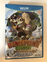 Donkey Kong Country: Tropical Freeze (Nintendo Wii U, 2014) CIB Complete - $17.81