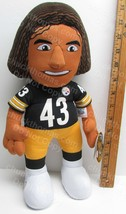 Pittsburgh Steelers Troy Polamalu Number 43 NEW with Tag 14 Inch Plush Doll - $16.95
