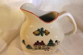 Jamestown China Joy of Christmas 8 oz Creamer - $9.00