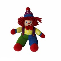 "Gymboree Gymbo The Clown Plush 12.5"" Soft Toy Stuffed Gym Mark Doll 2006  - $15.84"