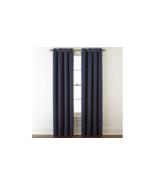 (1) JCPenney JCP Liz Claiborne Quinn INDIGO Blue Grommet Curtain Panel 5... - $45.04