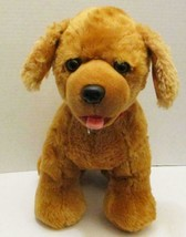 "BUILD A BEAR PROMISE PETS GOLDEN RETRIEVER PUPPY DOG 14"" BARKS PLUSH DOL... - $5.99"