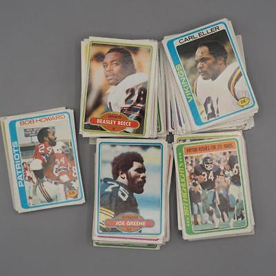 Primary image for Vintage Lot of 160 + Football Cards Topps 1978 1980